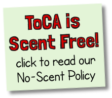 ToCA is a scent-free